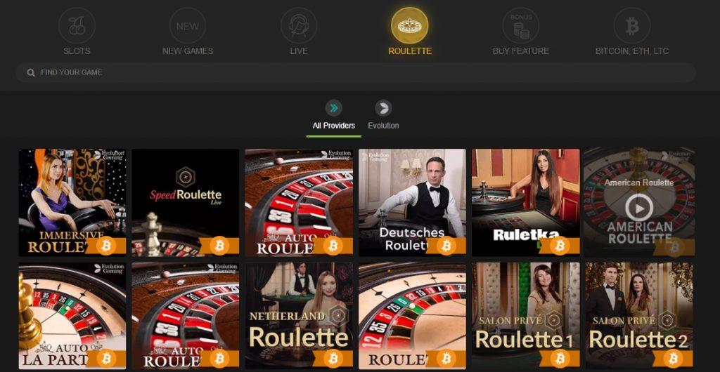 FastPay casino roulette