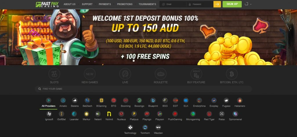 FastPay casino review