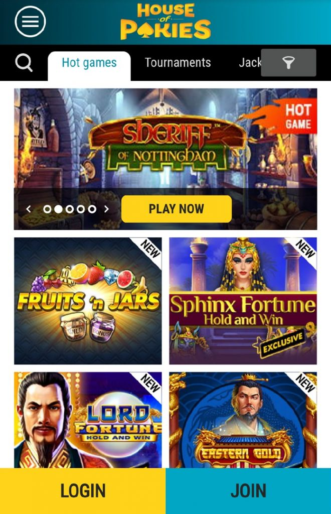 House of Pokies App Slots