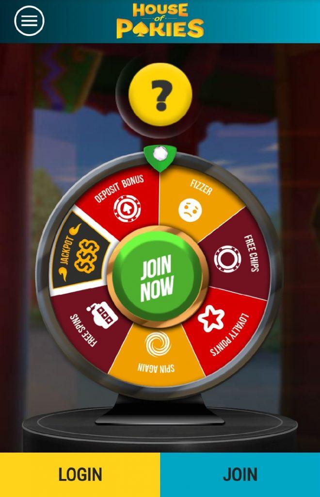 House of Pokies casino wheel of fortune