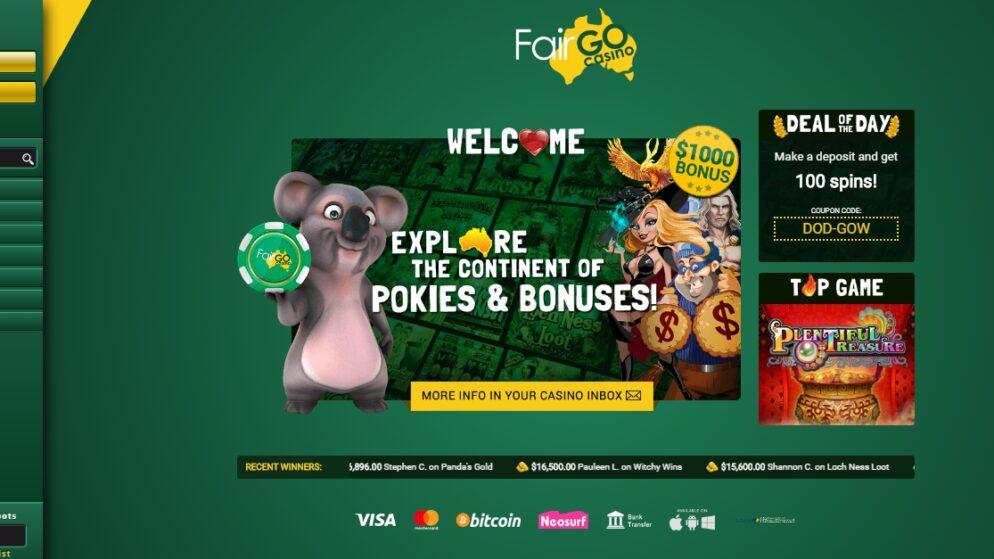 Fair Go Casino App