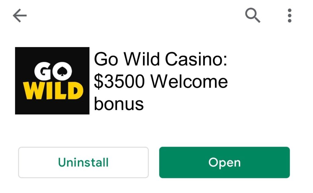 Go Wild Mobile Casino