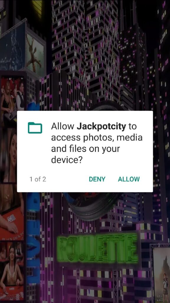 jackpotcity apk install