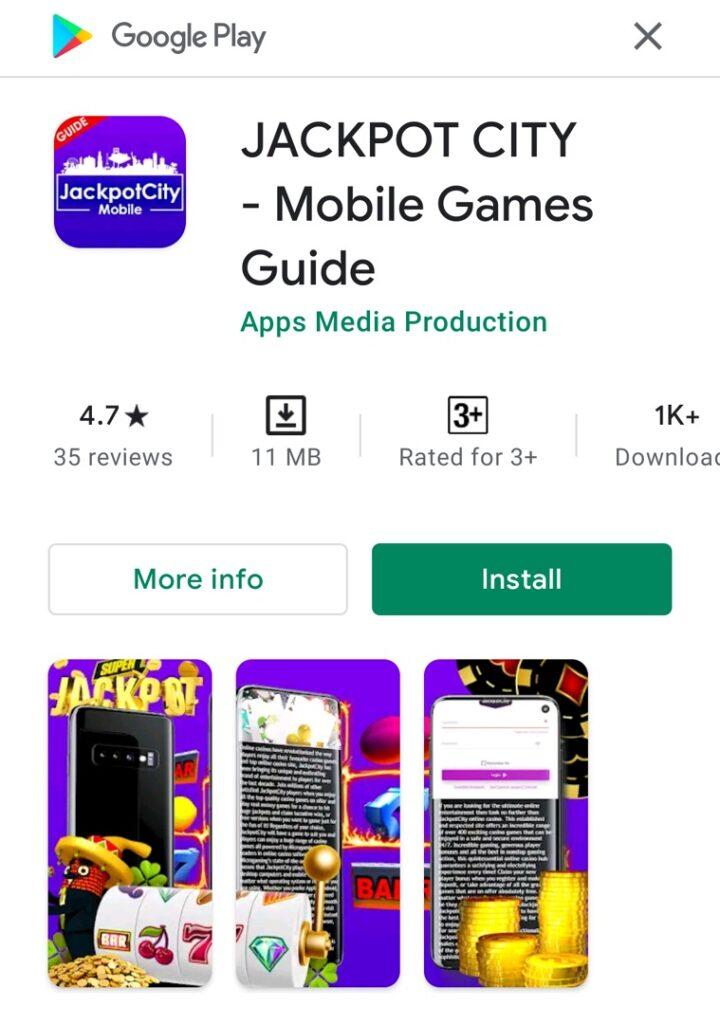 Jackpotcity download app
