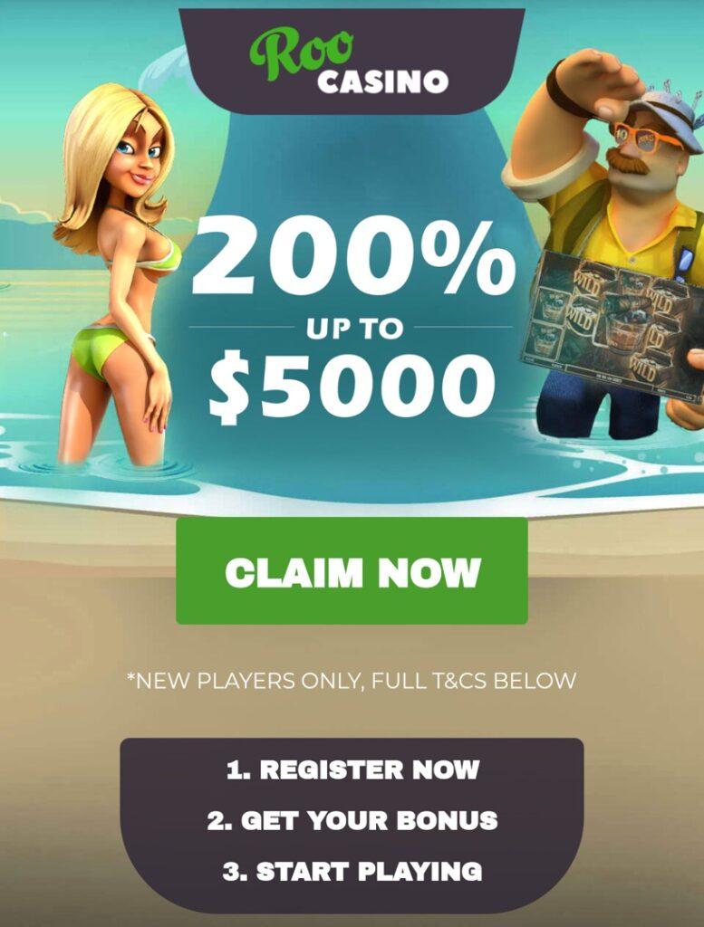 Roo Casino Mobile Bonus