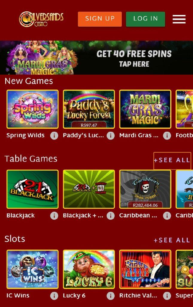 Silver Sands Casino Review Australoa
