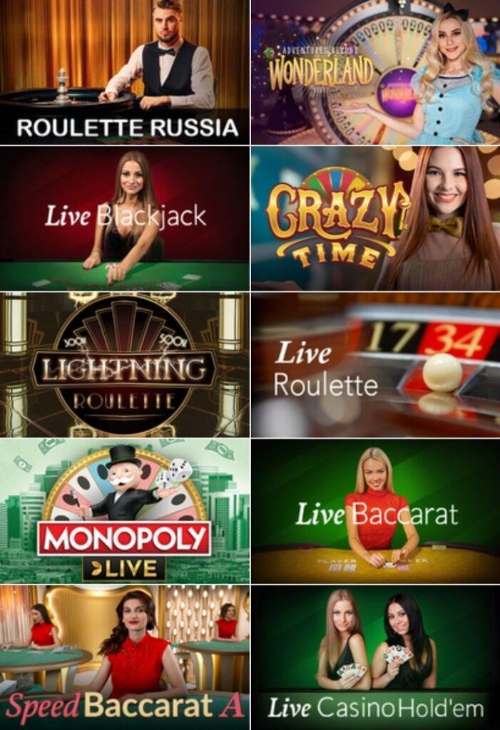 Tropica live casino