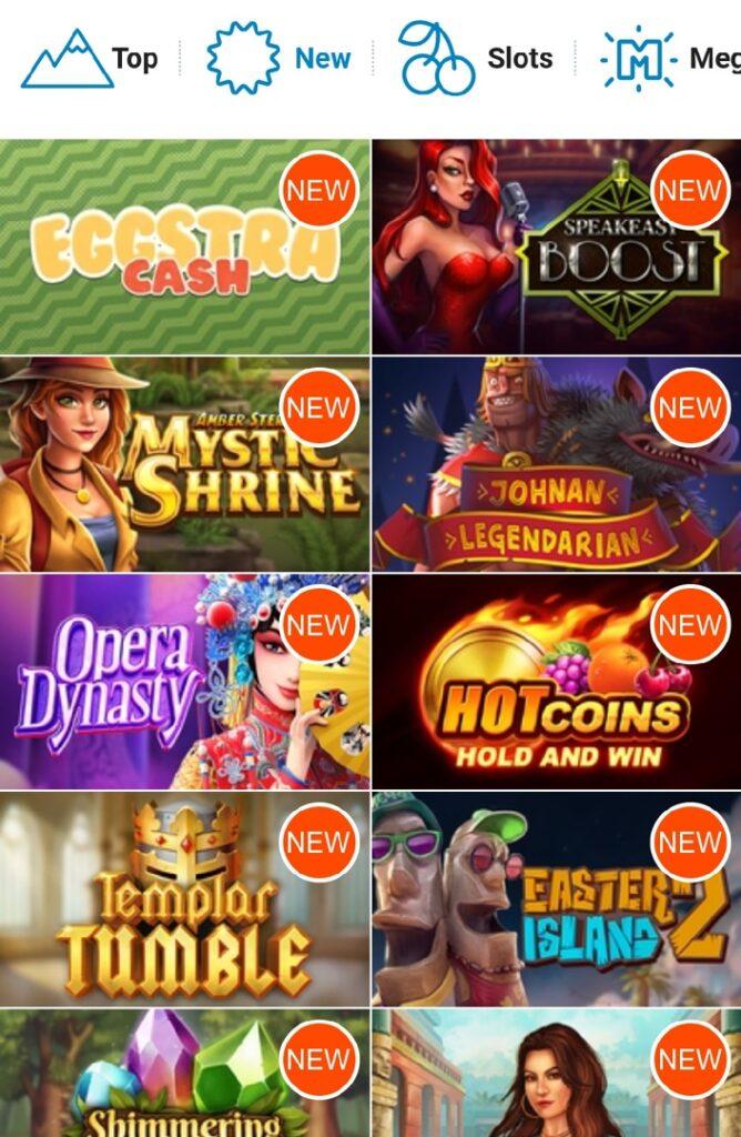 Tropica casino mobile games