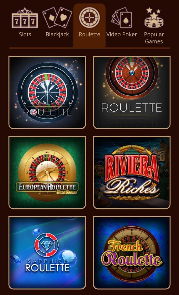 Riverbelle Casino roulette