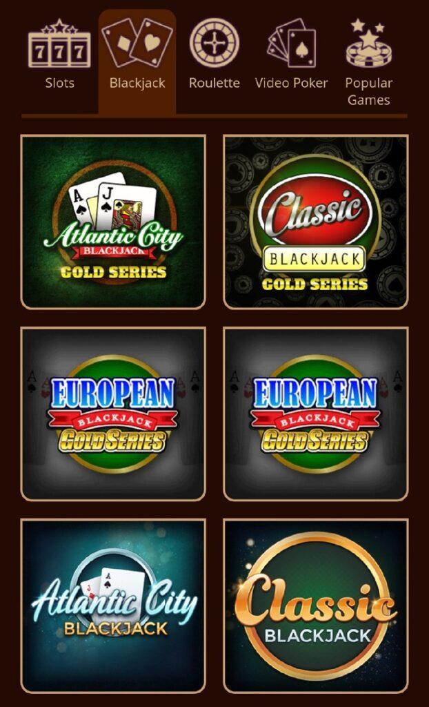Riverbelle Casino Mobile Blackjack