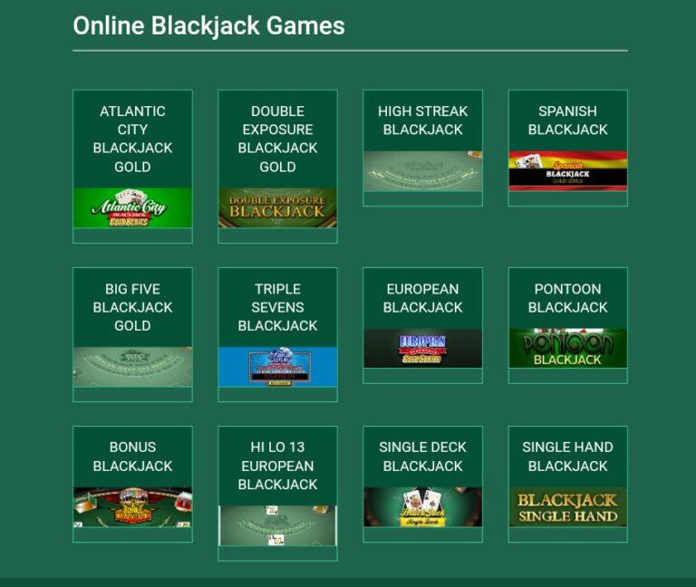 Casino Mate mobile blackjack