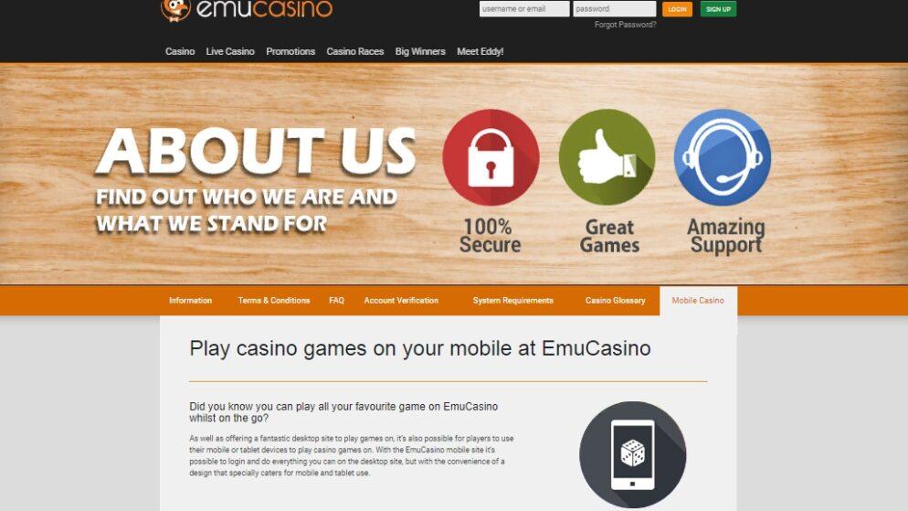 EMU Casino Australia