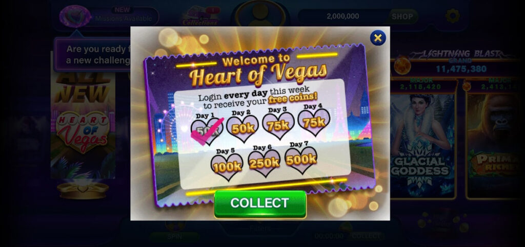 Welcome to Heart of Vegas