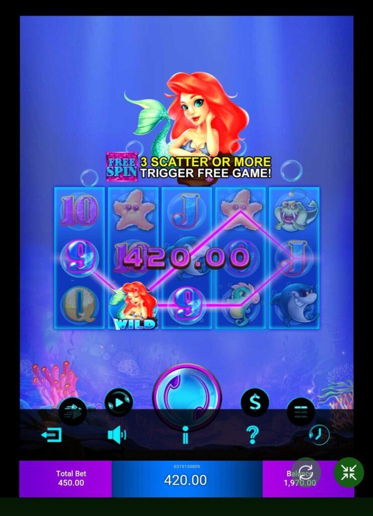Mermaid play on real money & demo
