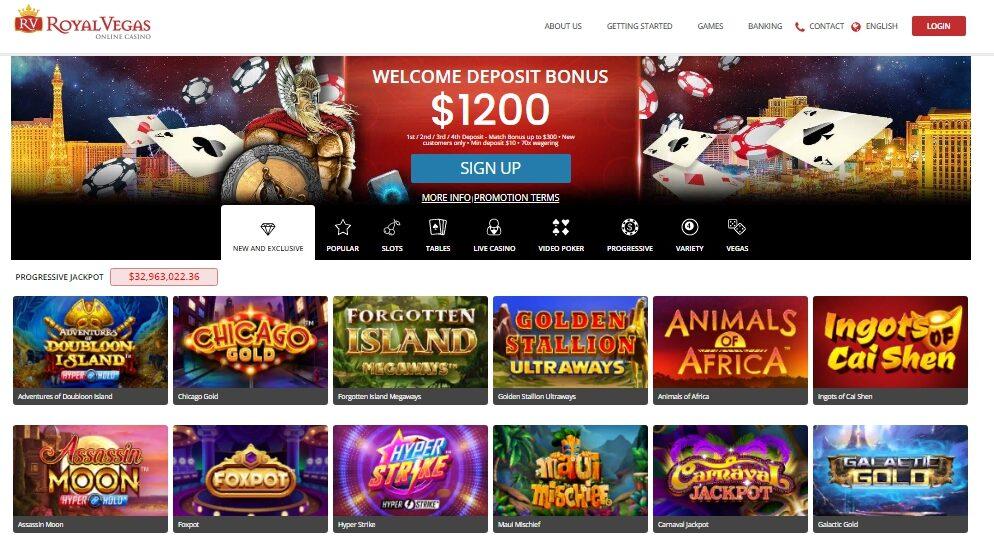 Royal Vegas Mobile Casino