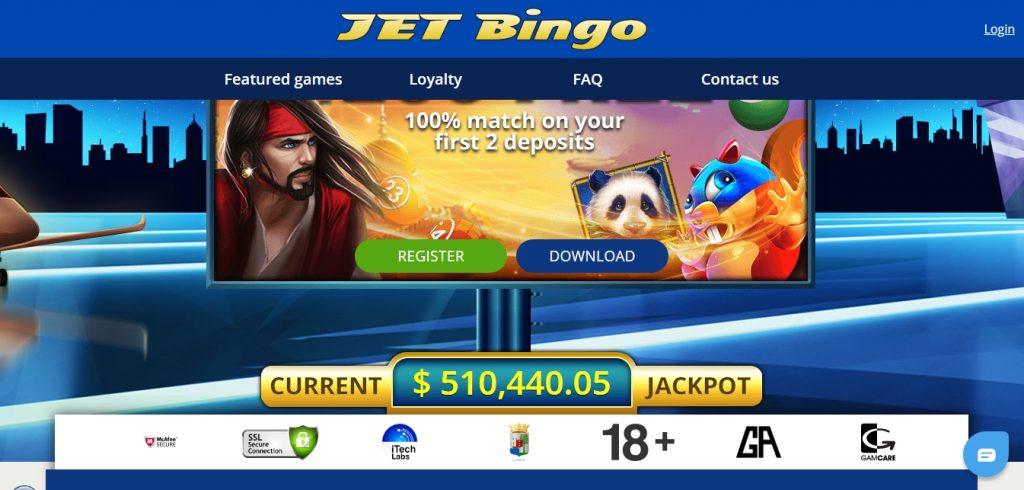 JetBingo casino review