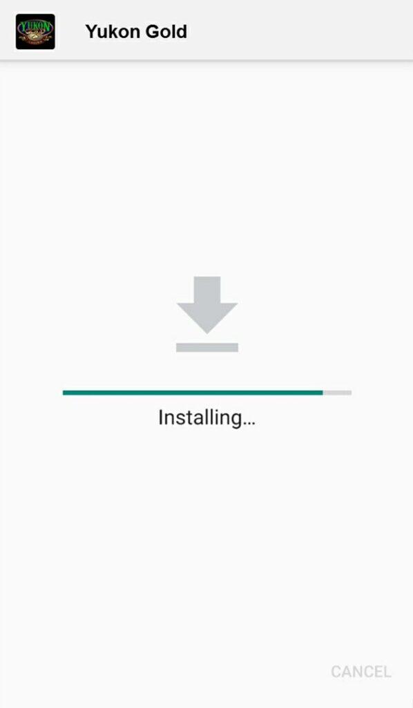 installing app