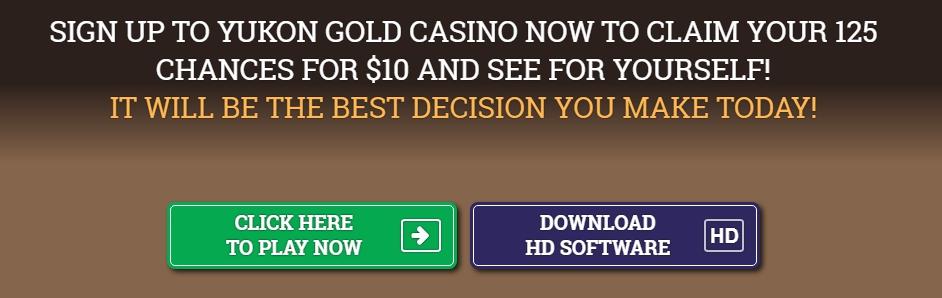 Yukon Gold Casino app download