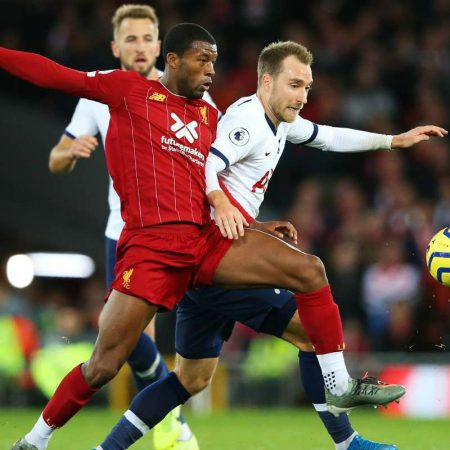 "A review of the match ""Liverpool"" — ""Tottenham"" — 2:1"