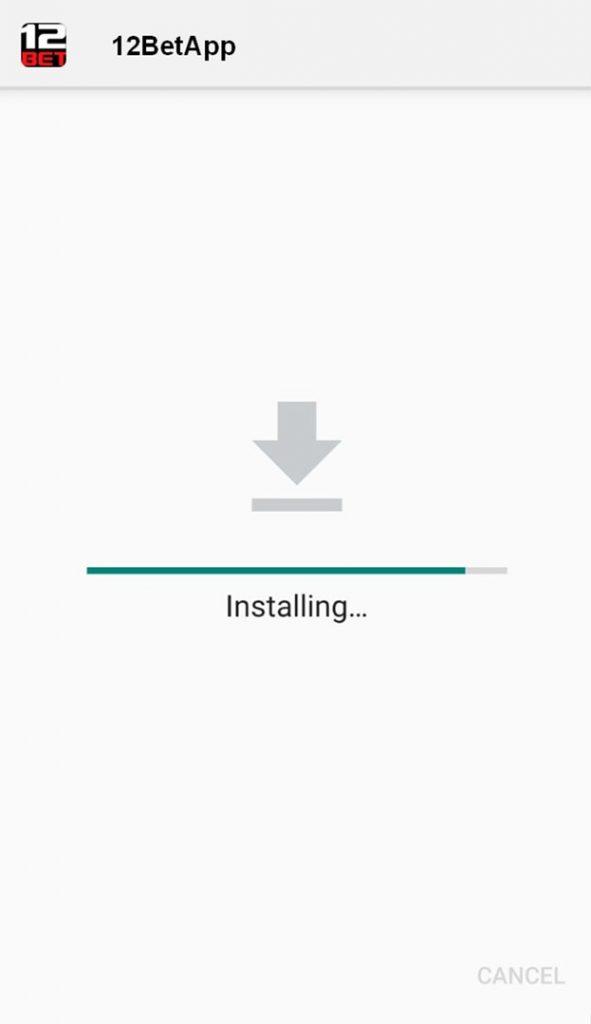 12bet app installing