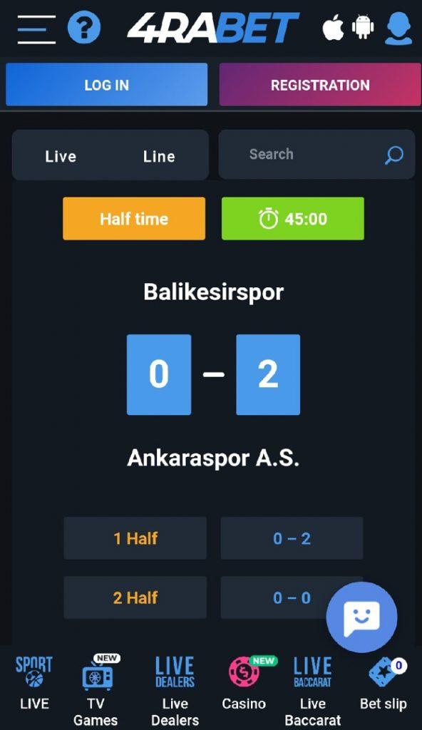 4rabet - bets in app