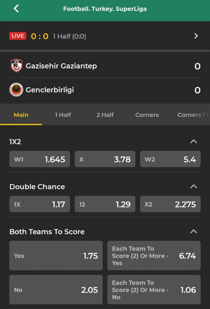 Betwinner Football - SuperLiga