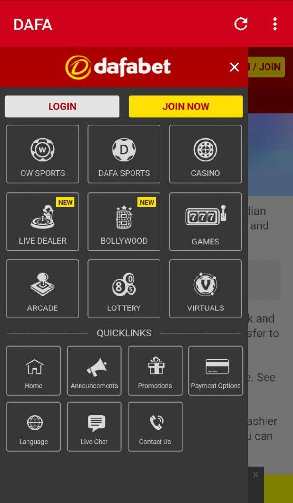 Dafabet App India