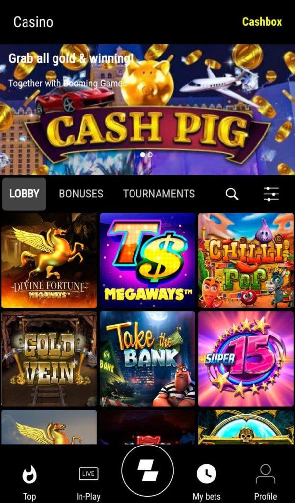 Parimatch Mobile Casino