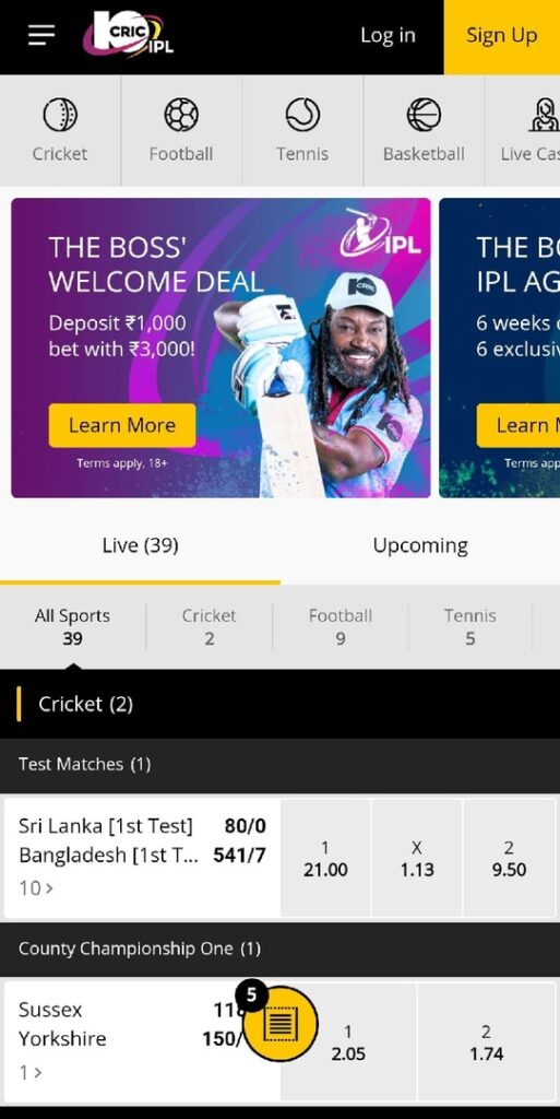 10CRIC app for android download now