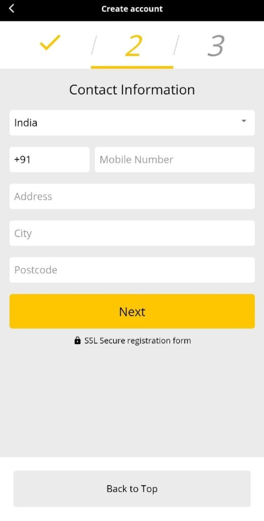 10Cric Registration