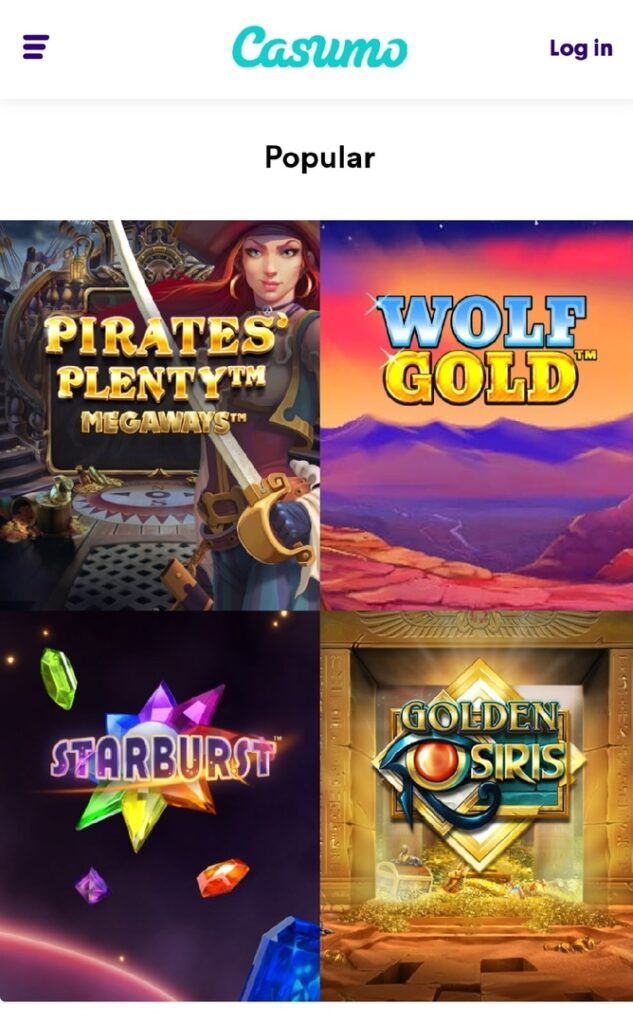 Casimo popular games