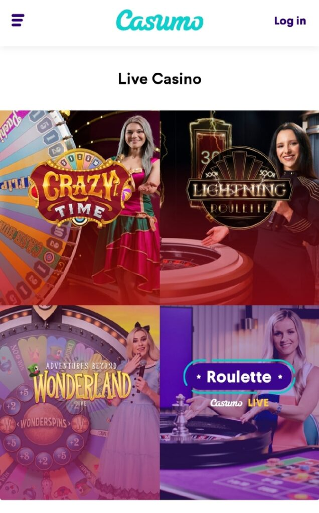 Casimo Live Casino