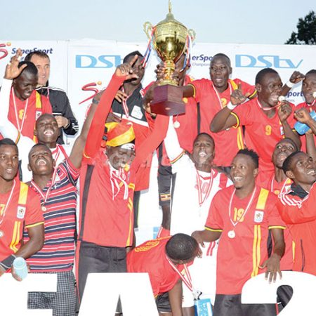 Cecafa Senior Challenge Cup in 2020. Kenya in the final