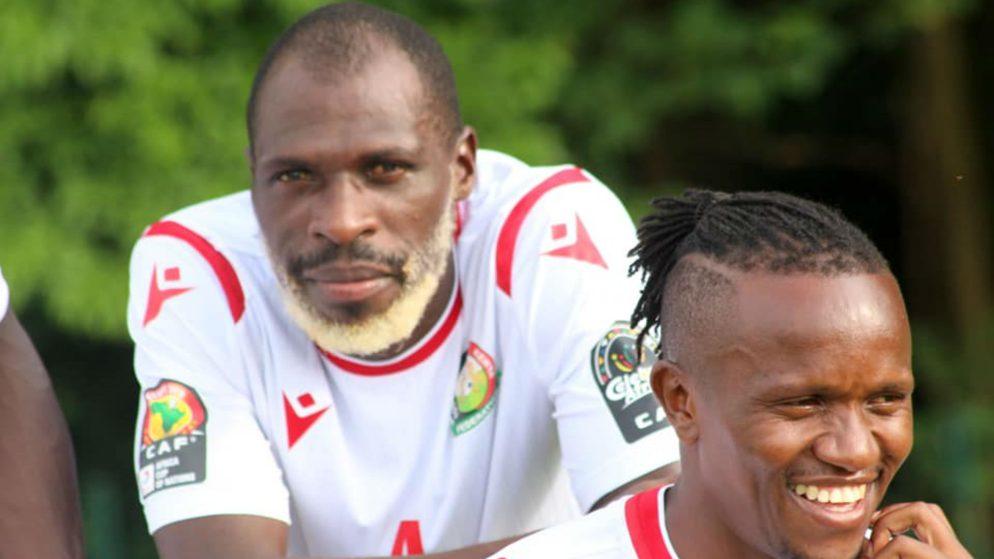 Kenyan National Team player dyed his beard white