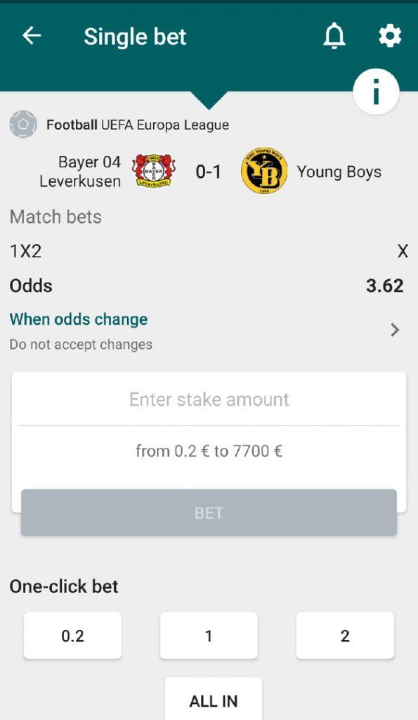 22bet mobile betting app
