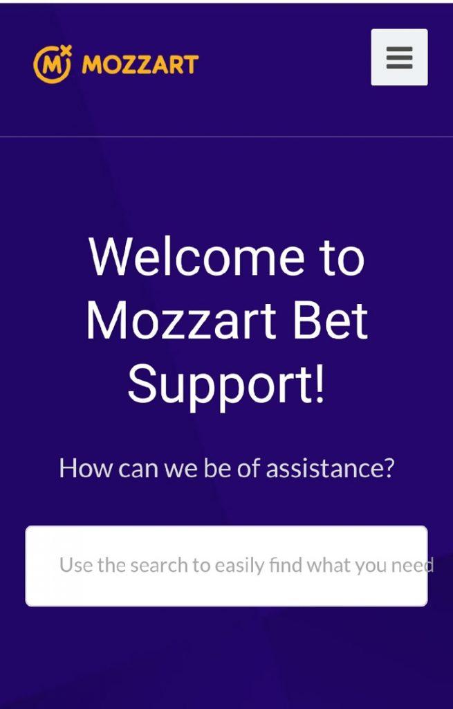 Mozzartbet support