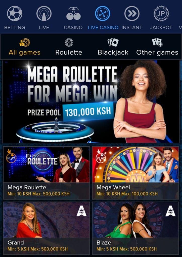 Mozzartbet live casino