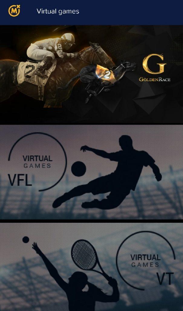 Mozzartbet virtual sports