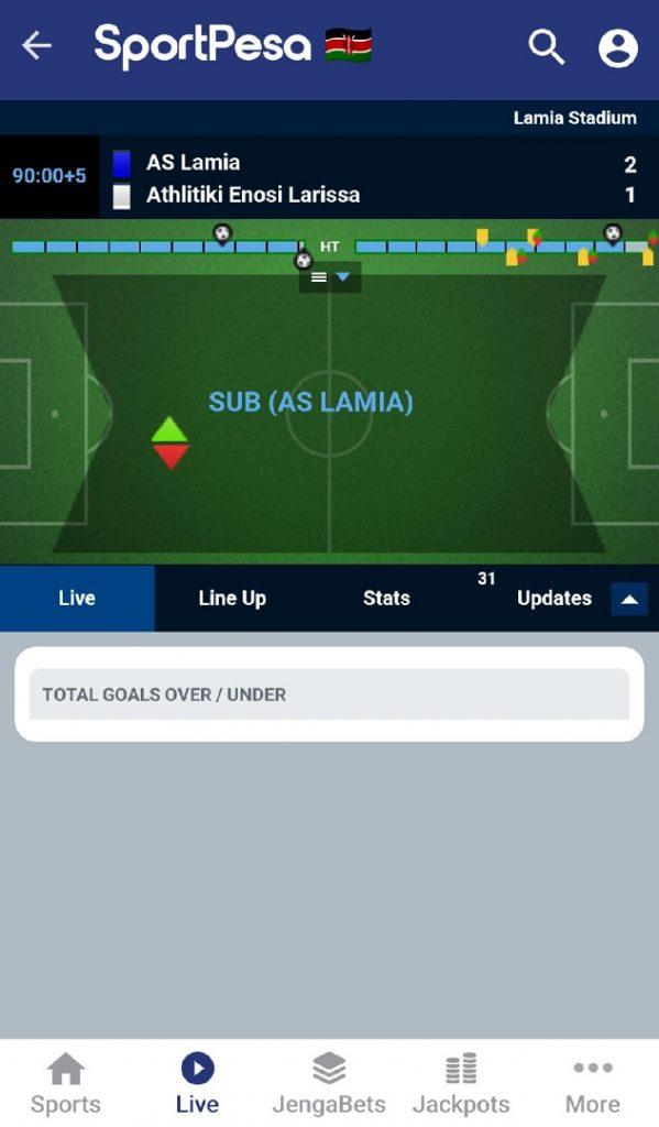 Sportpesa live match