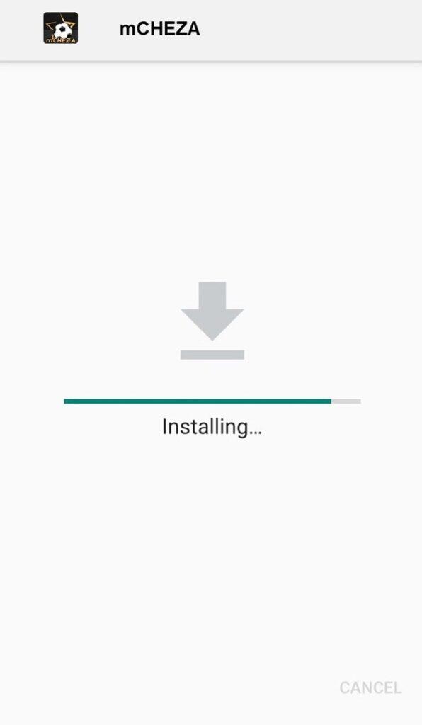 Mobile App - Installing