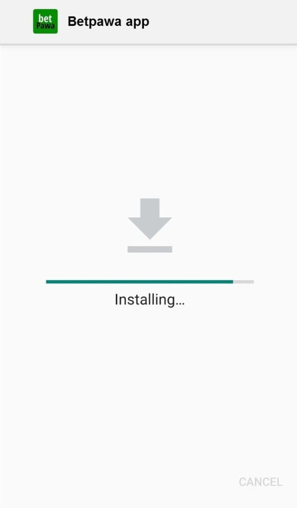 mobile app for android installing