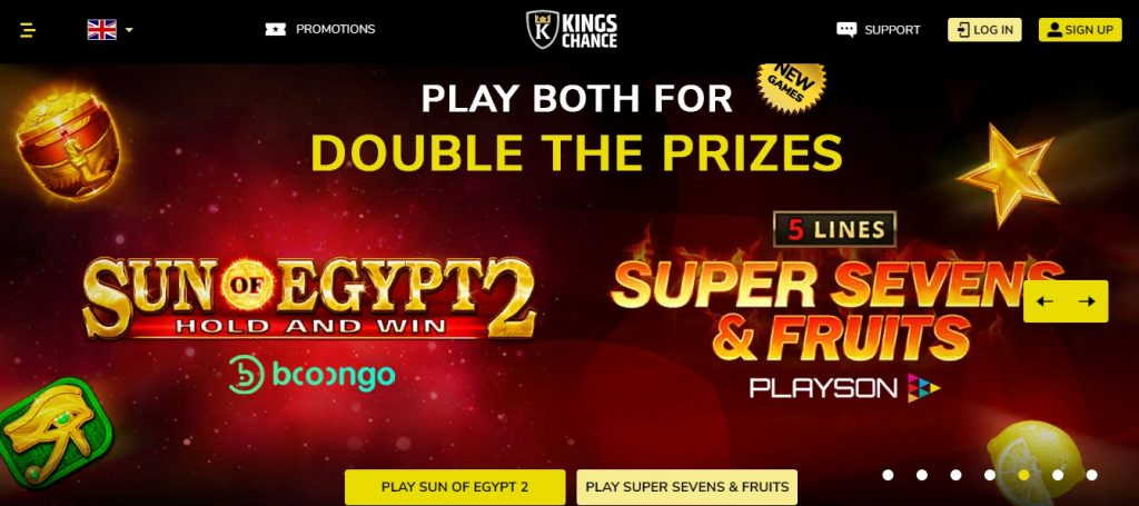 Kings Chance review casino