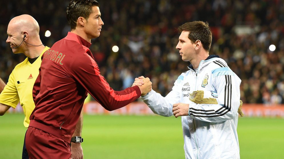 Cristiano Ronaldo and Lionel Messi are the new MLS players?